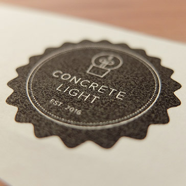 Concrete Light Logo